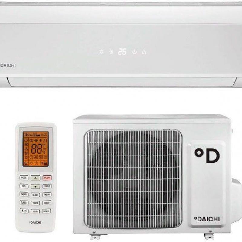 Настенные кондиционеры DAICHI inverter DA50AVQS1-W/DF50AVS1 (белая полоска) - заказать с доставкой в Сочи Сочи