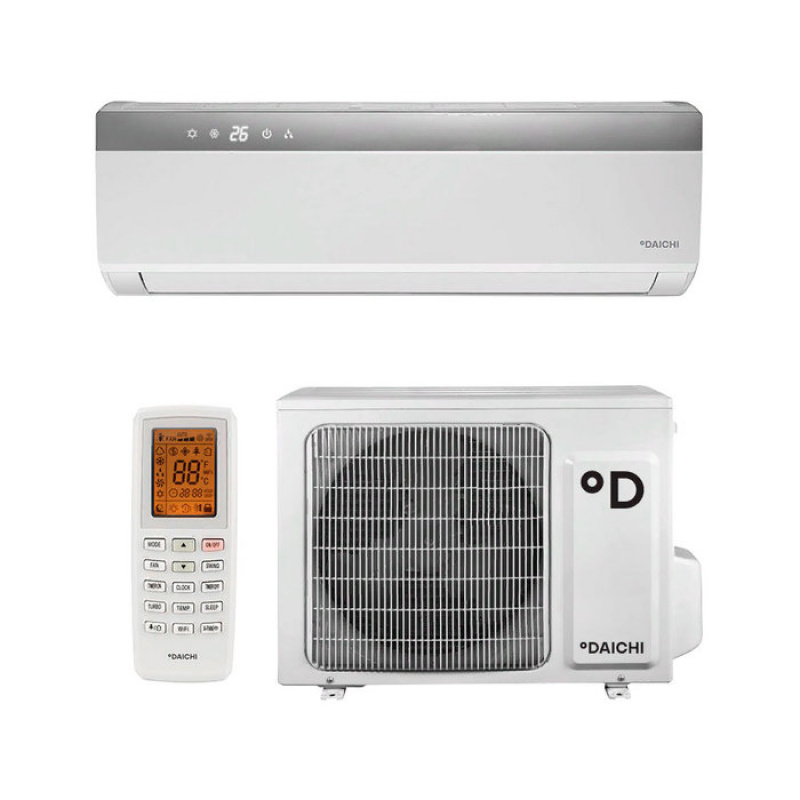 Настенные кондиционеры DAICHI inverter DA60AVQS1-S/DF60AVS1 (серая полоска) - заказать с доставкой в Сочи Сочи